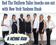 A Home Run: Red The Uniform Tailor knocks one out with New York Yankees Steak
